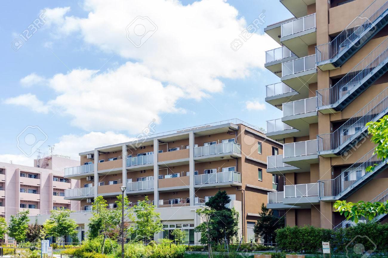 Apartment building in Japan - 63907034