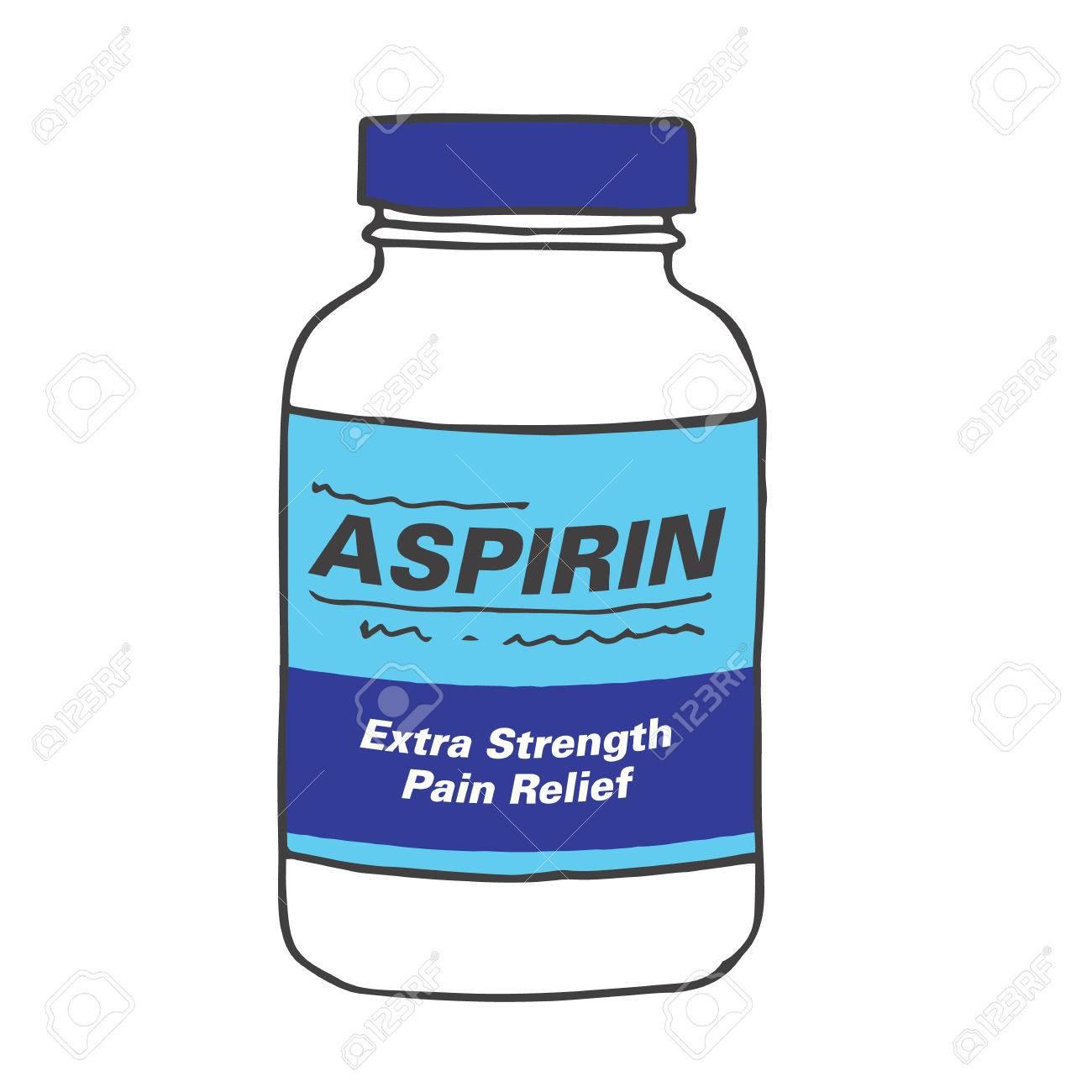Image result for cartoon aspirin bottle