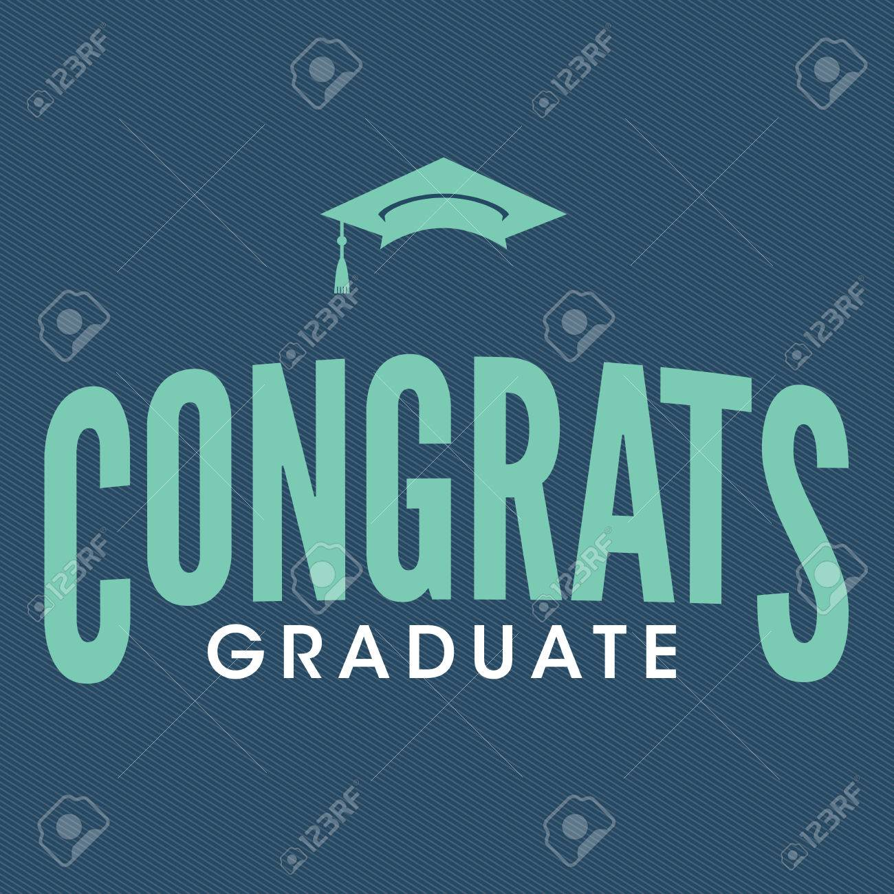 2016 congrats or congratulations graduate typography intended