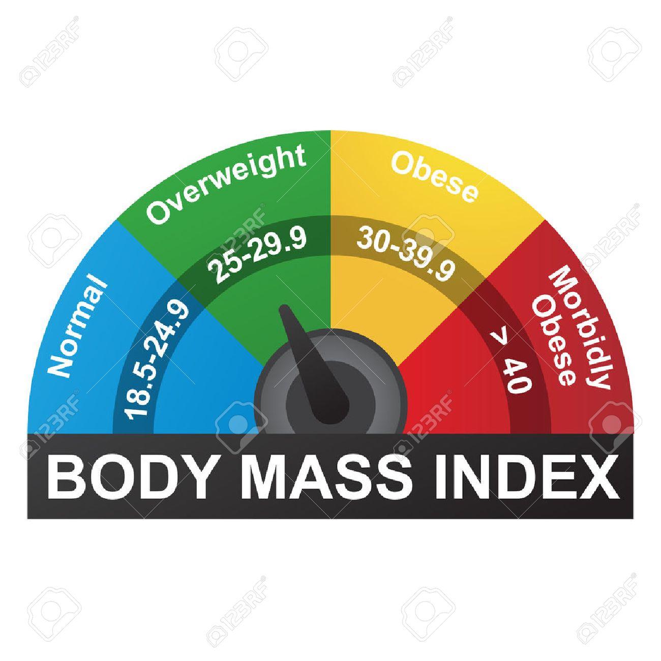 Tabla De IMC O índice De Masa Corporal Infografía Ilustraciones ...