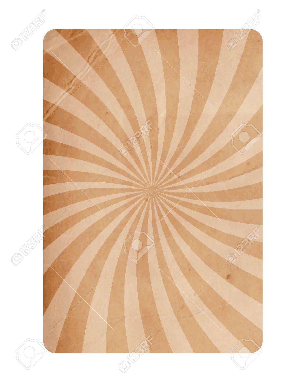 Vintage Spiral Texture Paper Background Vector Stock Vector - 13551209