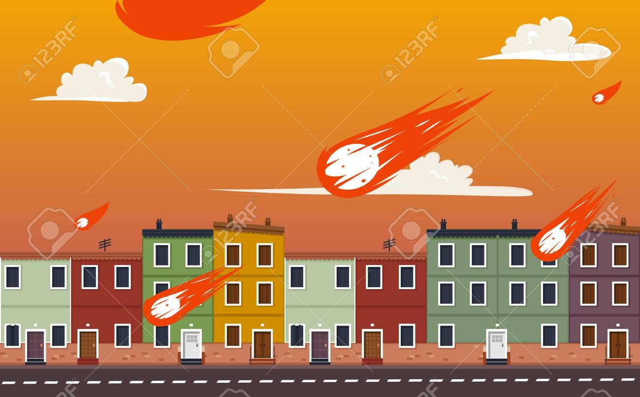 図世界の終わりのイラスト素材ベクタ Image 58972189