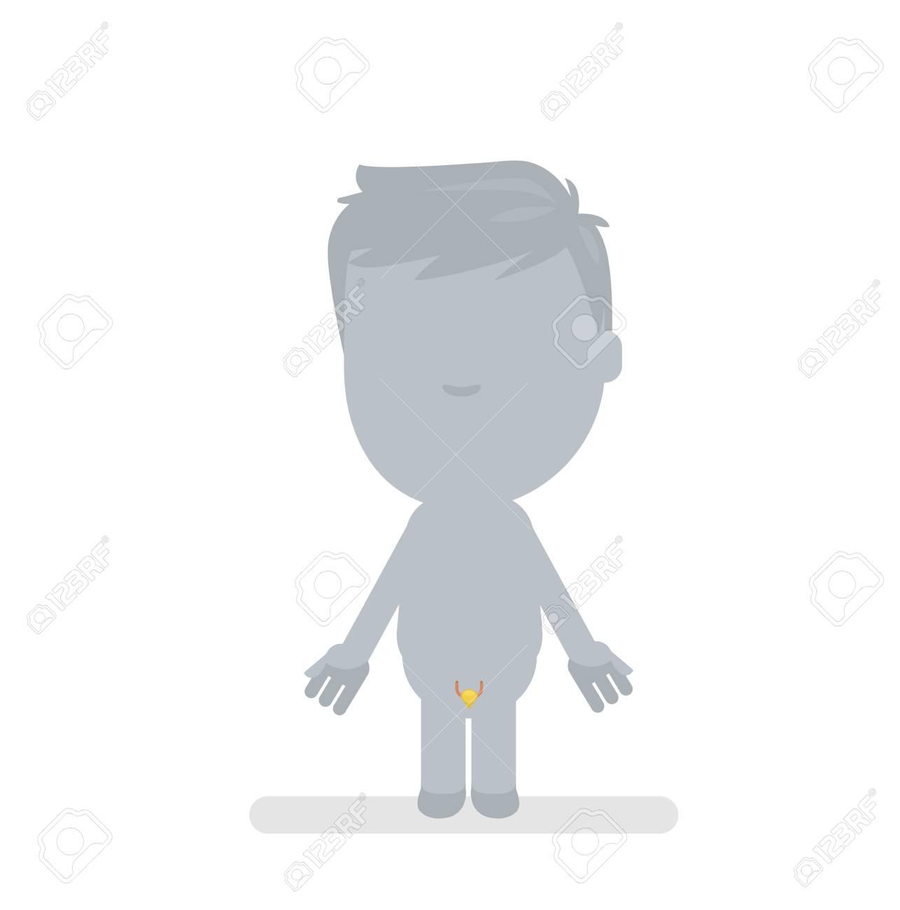 Menschlichen Körper Anatomie Vektor-Illustration Lizenzfrei Nutzbare ...
