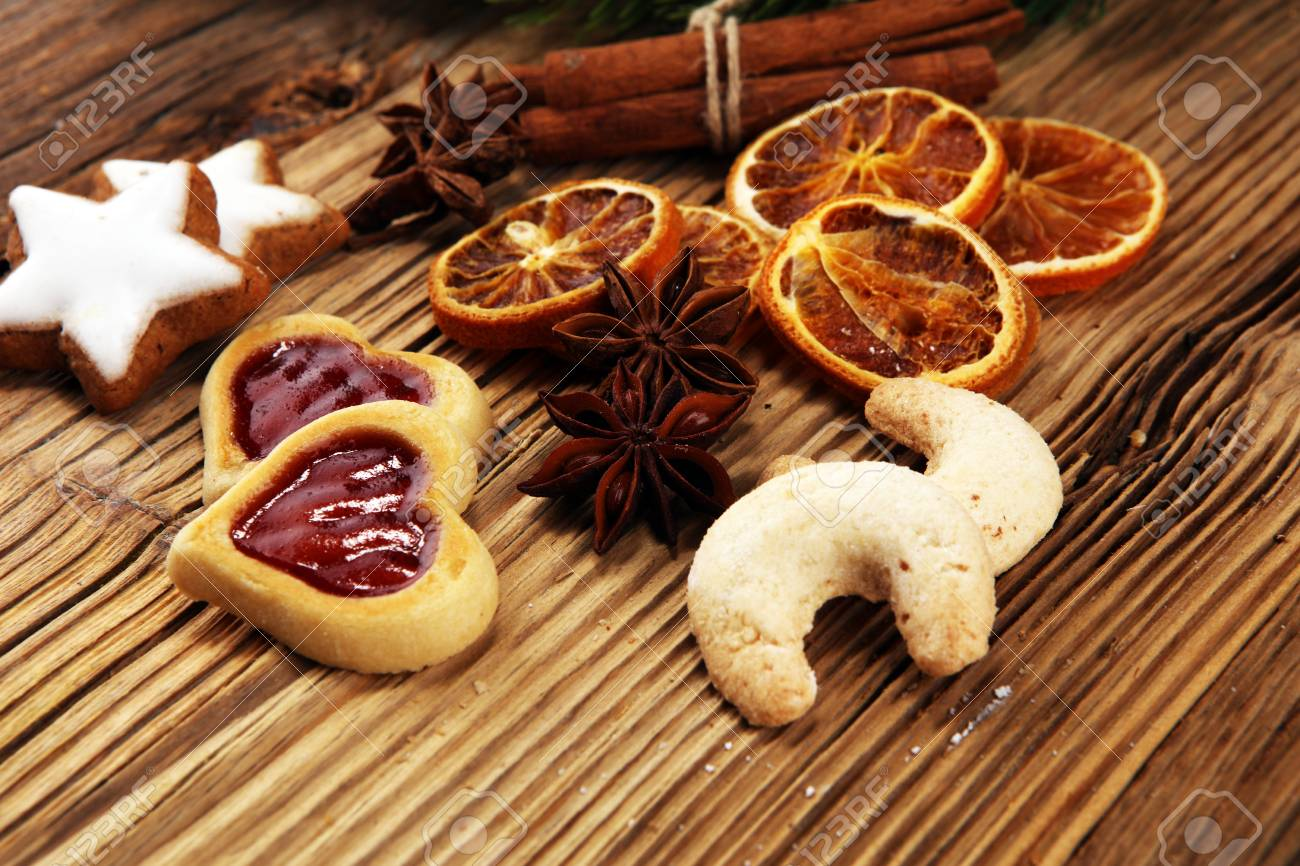 Baking Christmas Cookies Typical Cinnamon Stars Bakery With