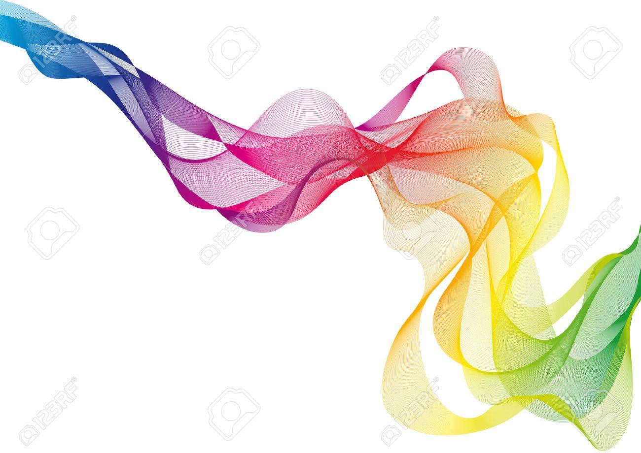 abstract colorful smoke - 7364925