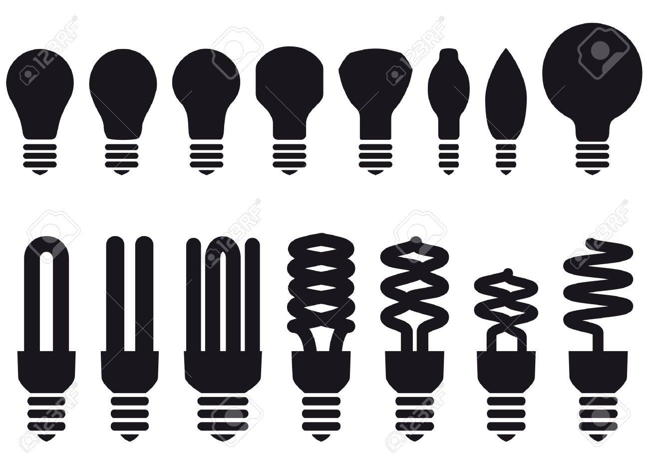 Clipart Energy Saving Energy Saving Light Bulbs