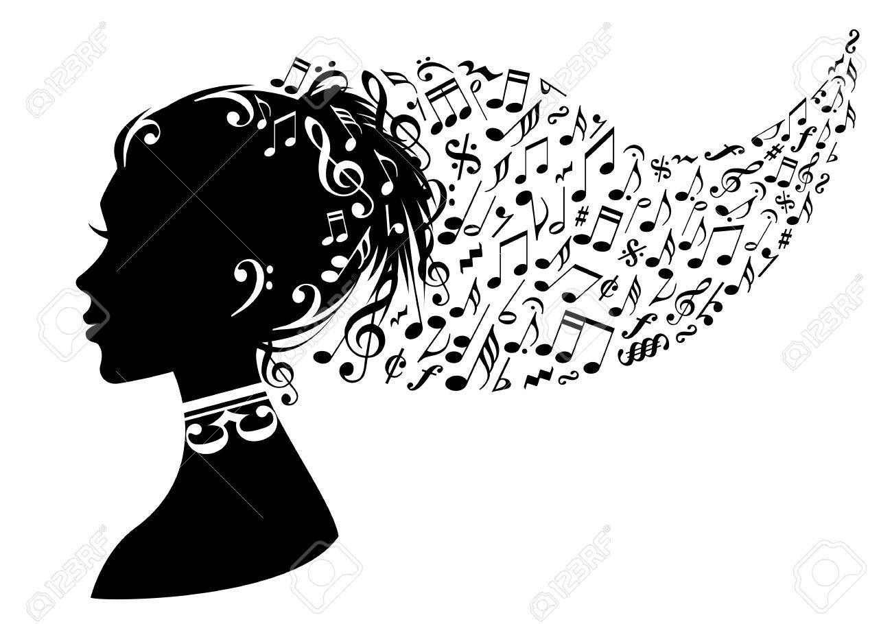===Gritos al viento...?=== 13318780-mujer-de-la-cabeza-con-las-notas-musicales-en-el-pelo-de-vectores-de-fondo-Foto-de-archivo