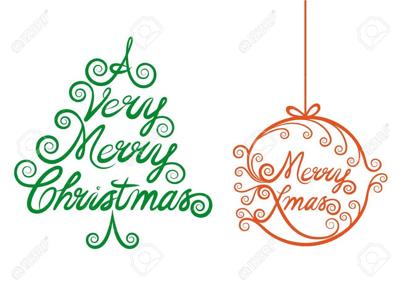Christmas tree and xmas ball, design elements Stock Vector - 15964971
