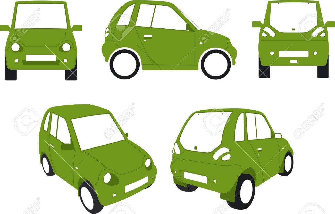 Electric Eco Car Royalty Free Cliparts, Vectors, And Stock ...