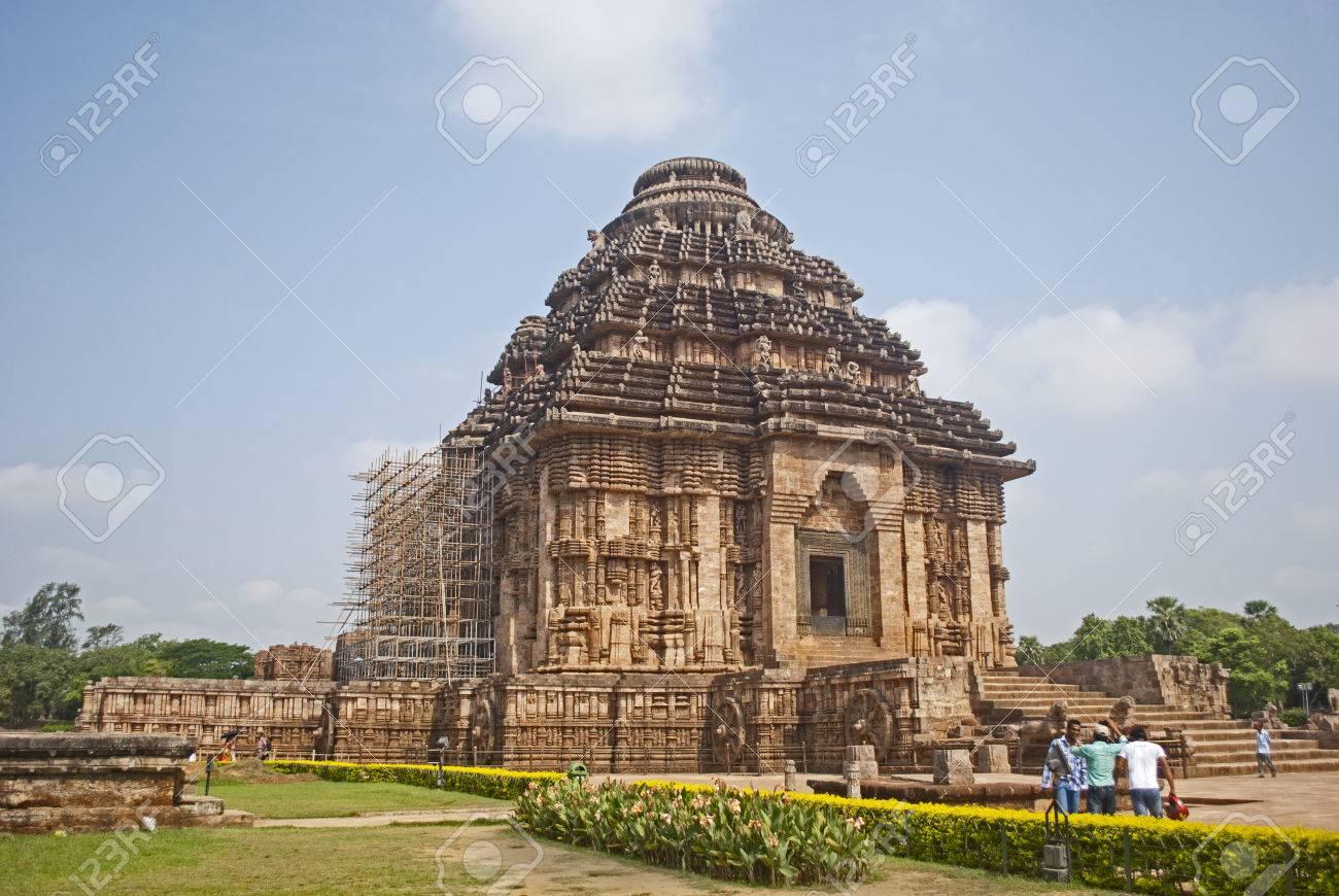 太陽神寺院、コナーラク、インド...