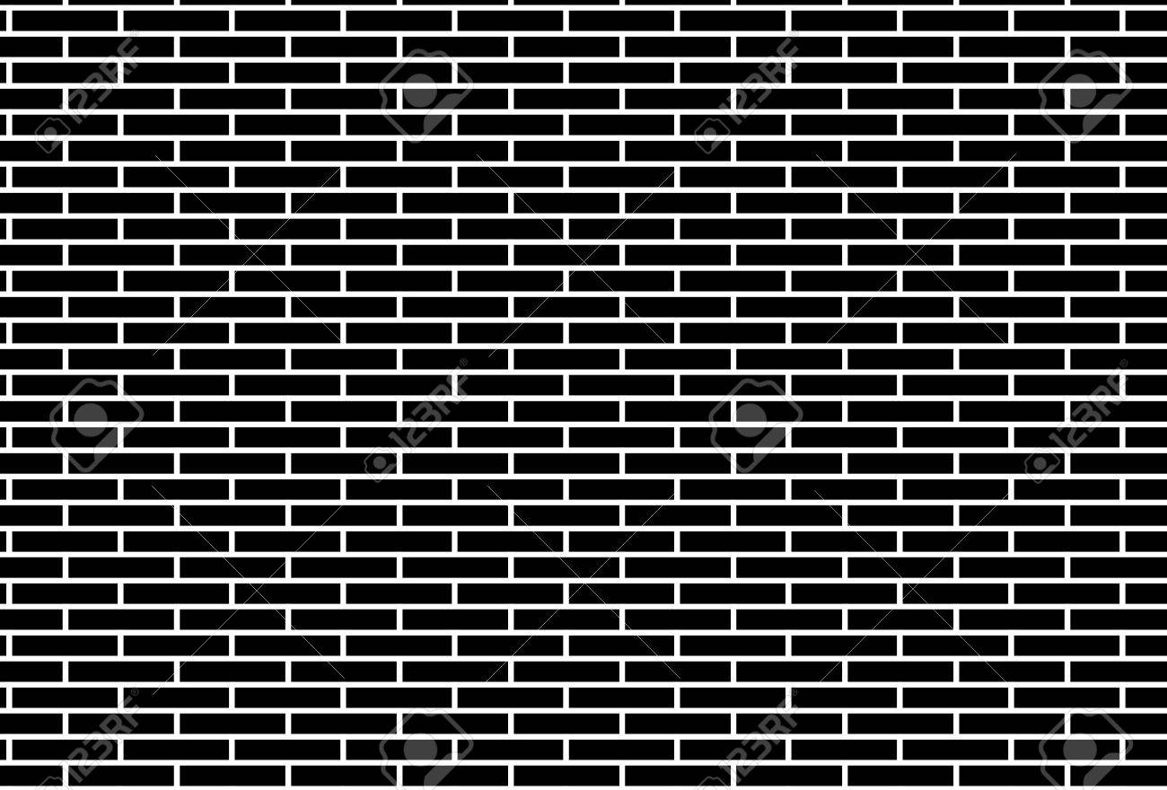 Black And White Brick Wall Pattern Background Royalty Free Cliparts Vectors And Stock Illustration Image 71629220