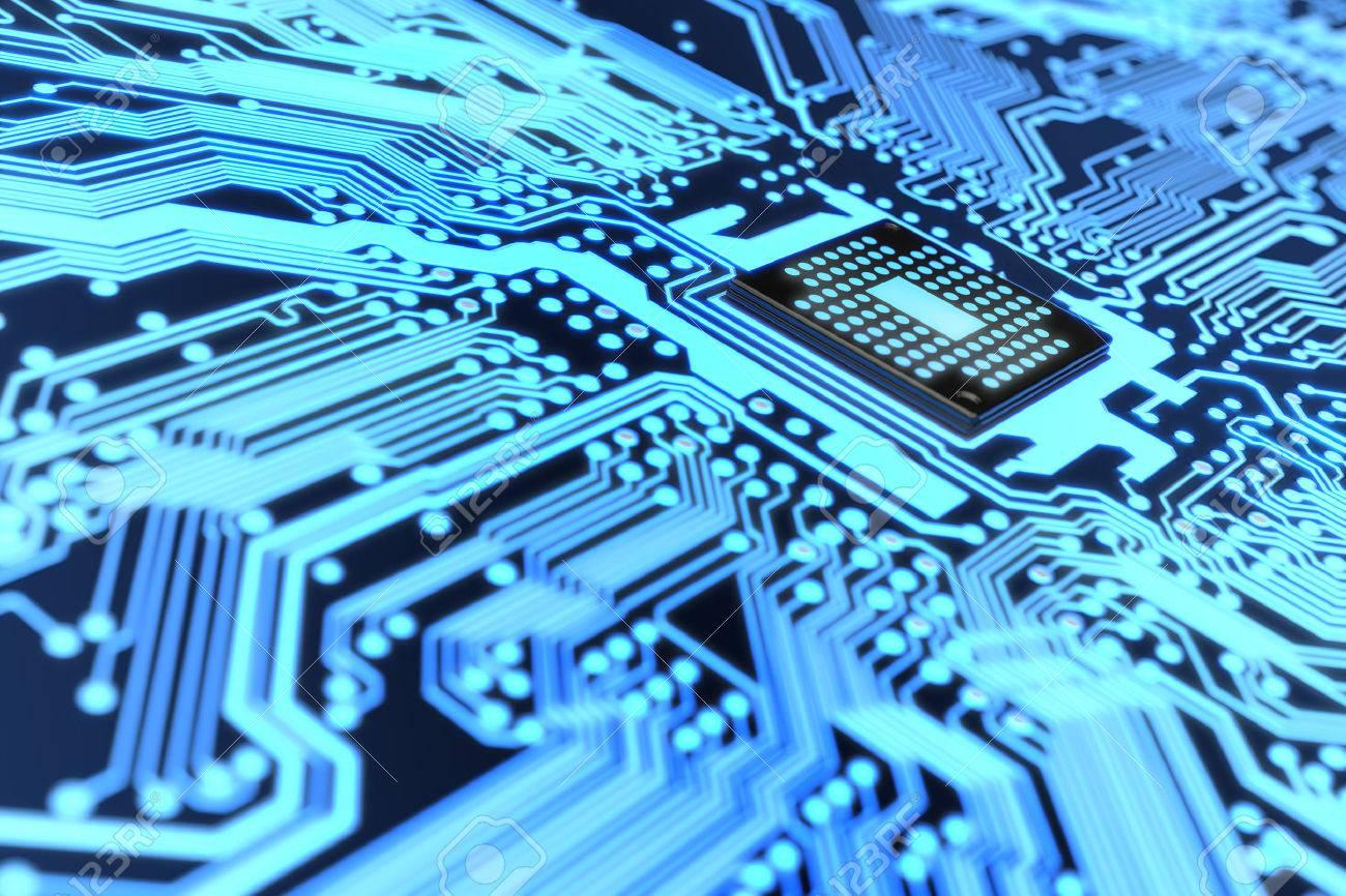Circuito Electronico : De muy alta resolución de un circuito electrónico fotos retratos