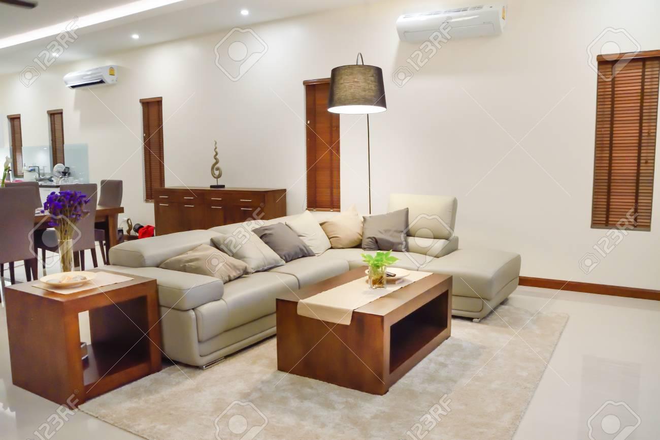 Architecture d\'intérieur, salon moderne.