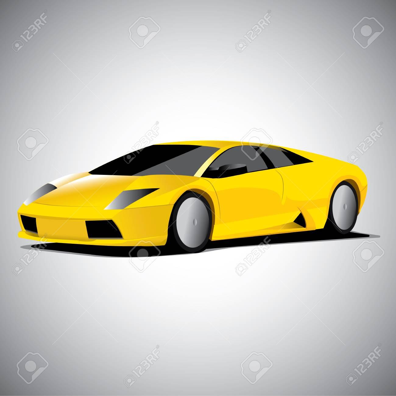 Realistic Car Vector Illustration Royalty Free Cliparts Vectors