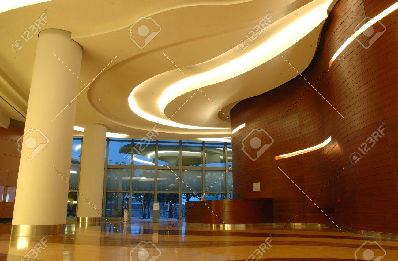 Architecture interior of a modern business building Stock Photo - 601037