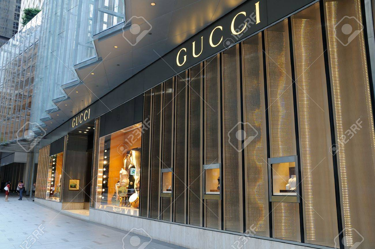 eeb0bd2b9d Gucci boutique in Hong Kong