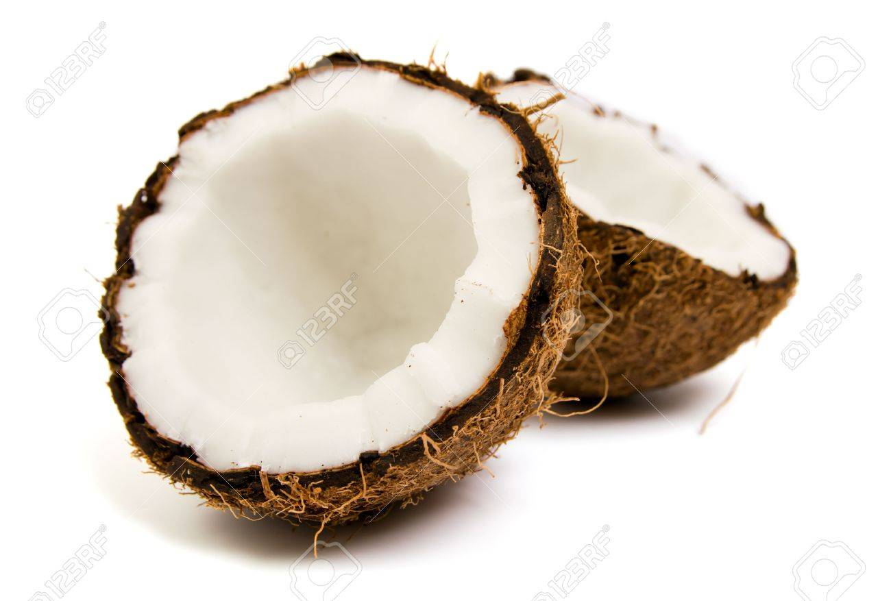 Coconuts isolated on white background Stock Photo - 5514800