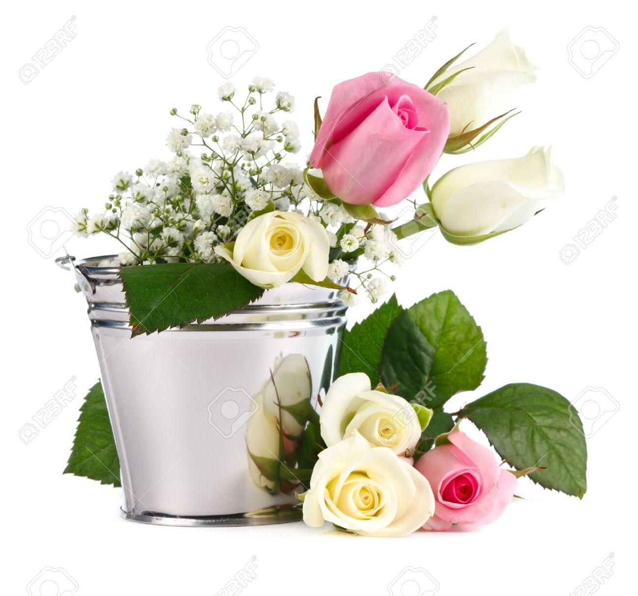 White flower buckets images flower decoration ideas fine white flower buckets images ball gown wedding dresses white flower buckets gallery flower decoration ideas mightylinksfo