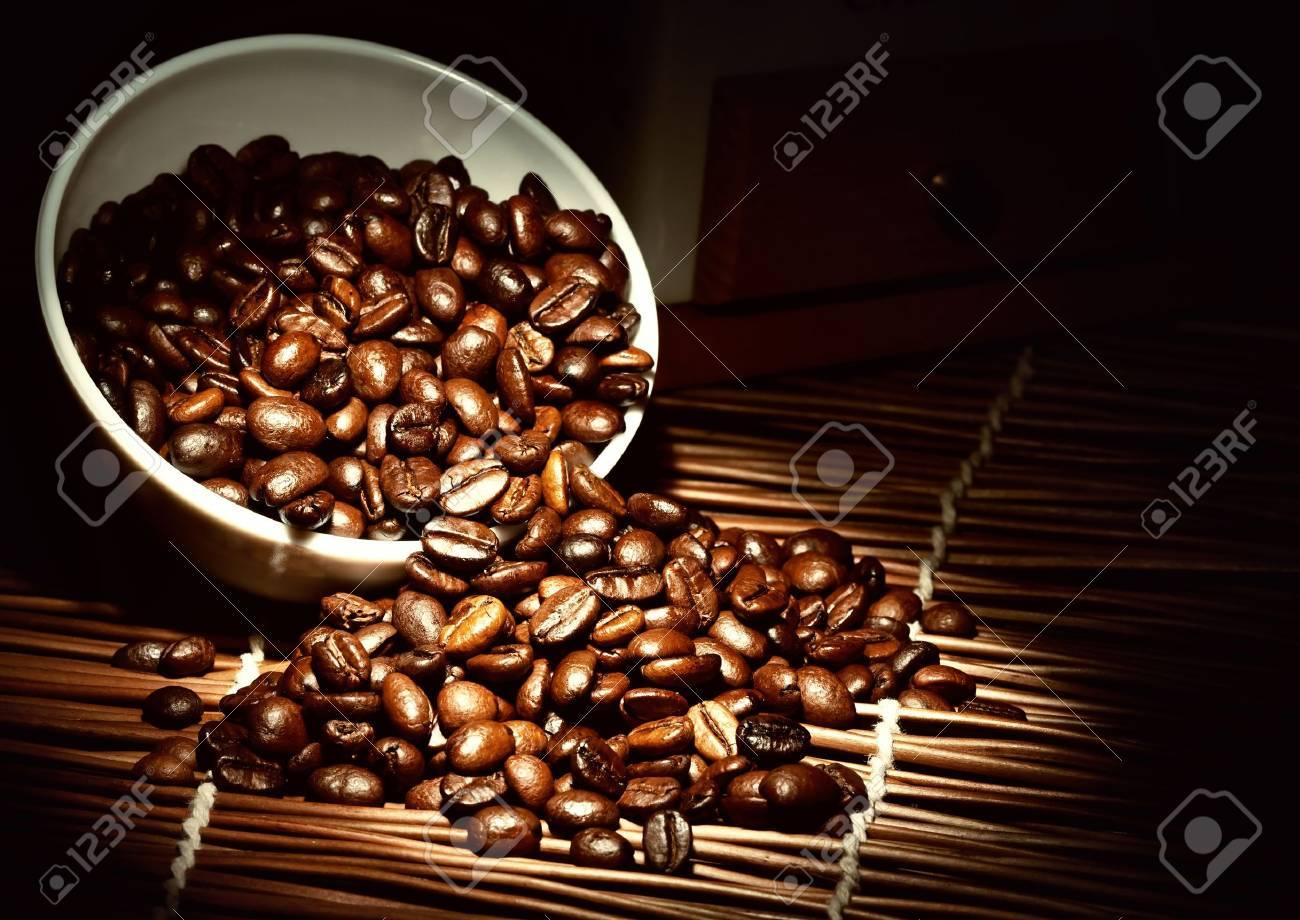 Coffee background - 12686161