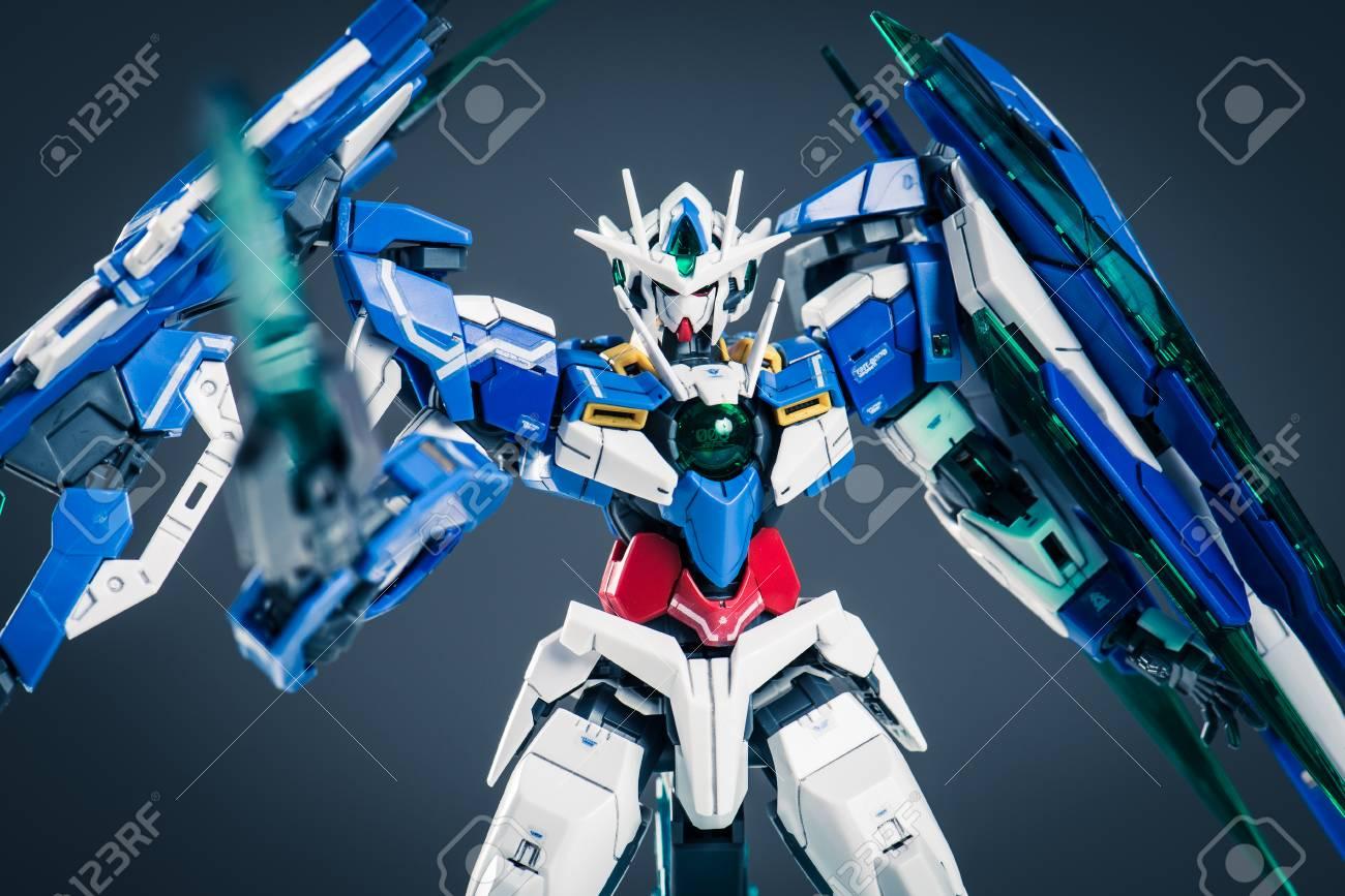 Osaka, Japan - 16 May 2017 - Gundam Is A Japanese Anime