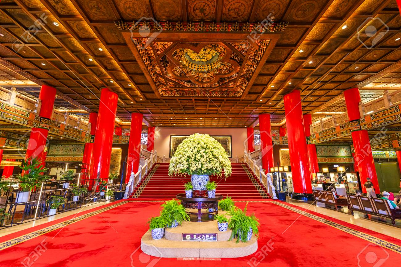 Taipei Taiwan May 10 2018 The Grand Hotel Is A Landmark Located Stock Photo Picture And Royalty Free Image Image 106648794