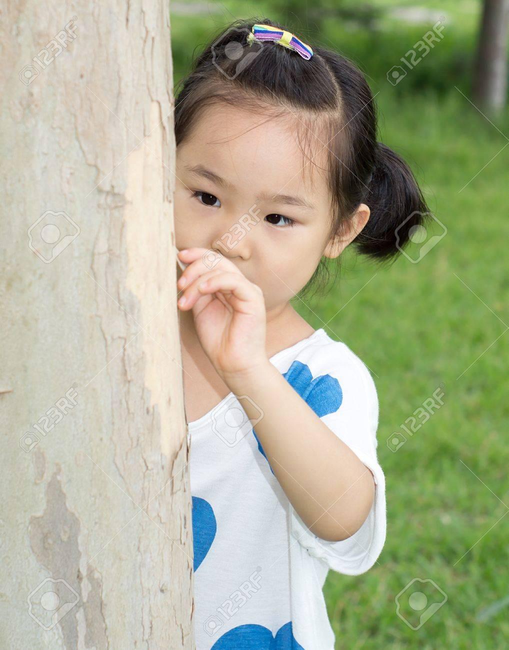 süsse kleine mädchen