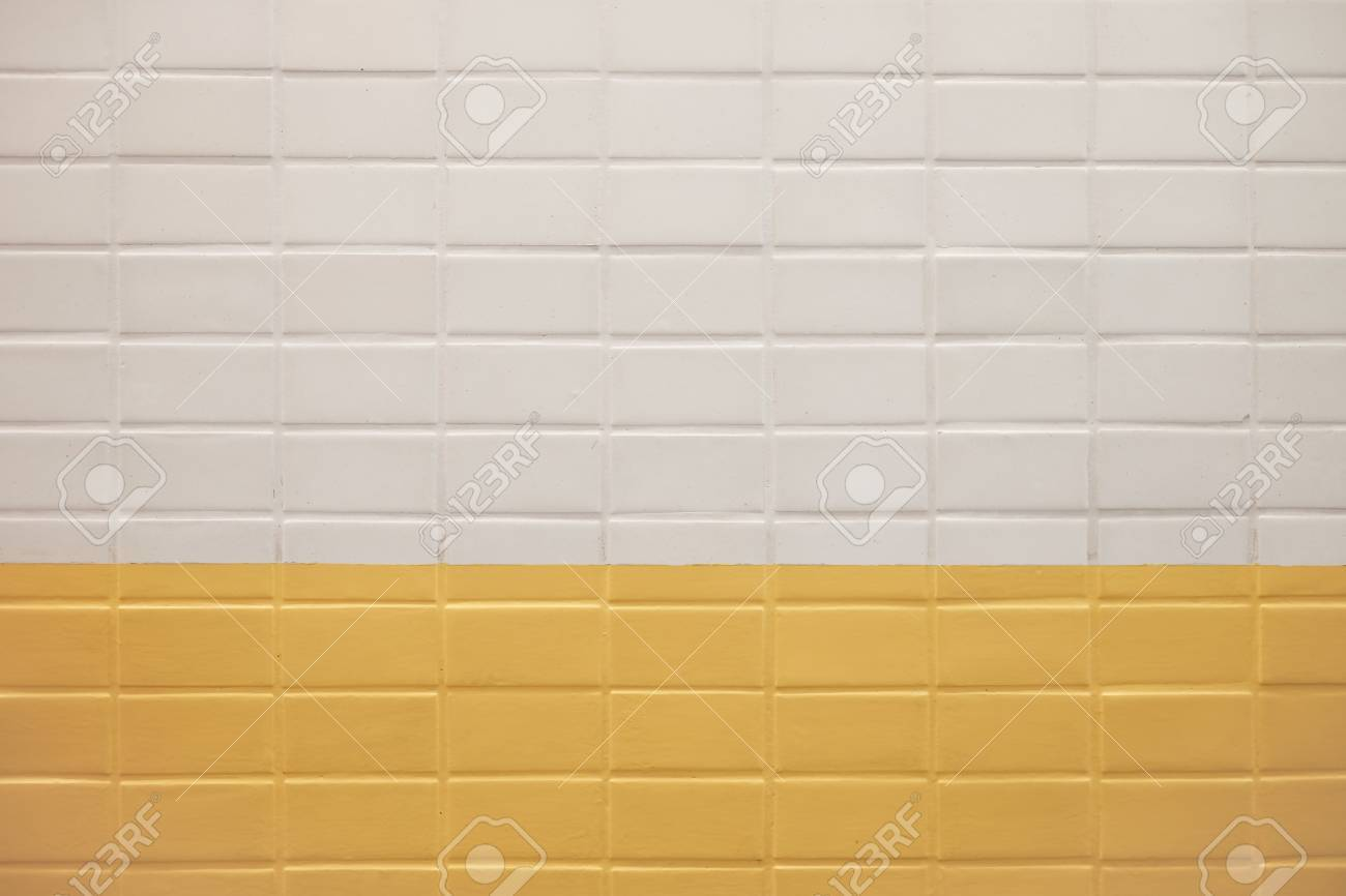 Subway wall background with white and yellow tiles texture stock subway wall background with white and yellow tiles texture stock photo 56607503 doublecrazyfo Image collections
