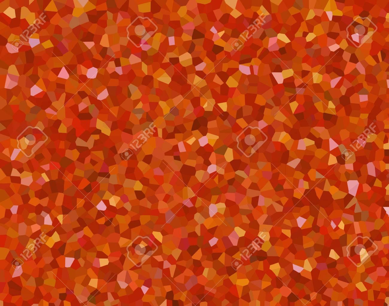 万華鏡のホーム画面の壁紙オレンジ色の光の背景でこぼこダイヤモンド砥