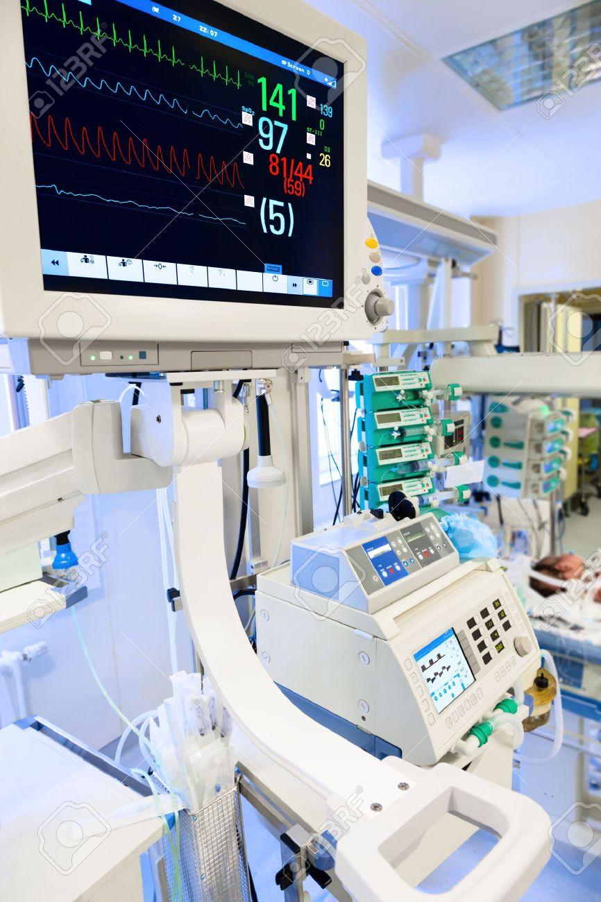 ECG monitor in neonatal intensive care unit - 19384358