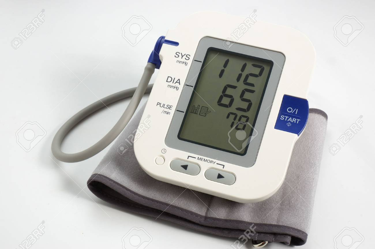 Tonometer electronic Stock Photo - 2706031