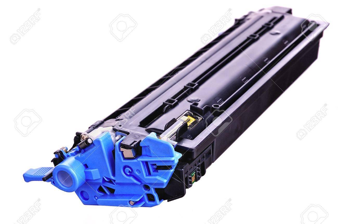 Laser Printer toner cartridges on a light background Stock Photo - 9136542