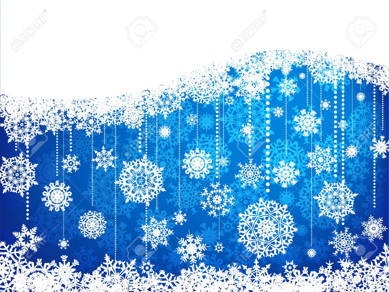 Elegant christmas background with baubles. Stock Vector - 8315360