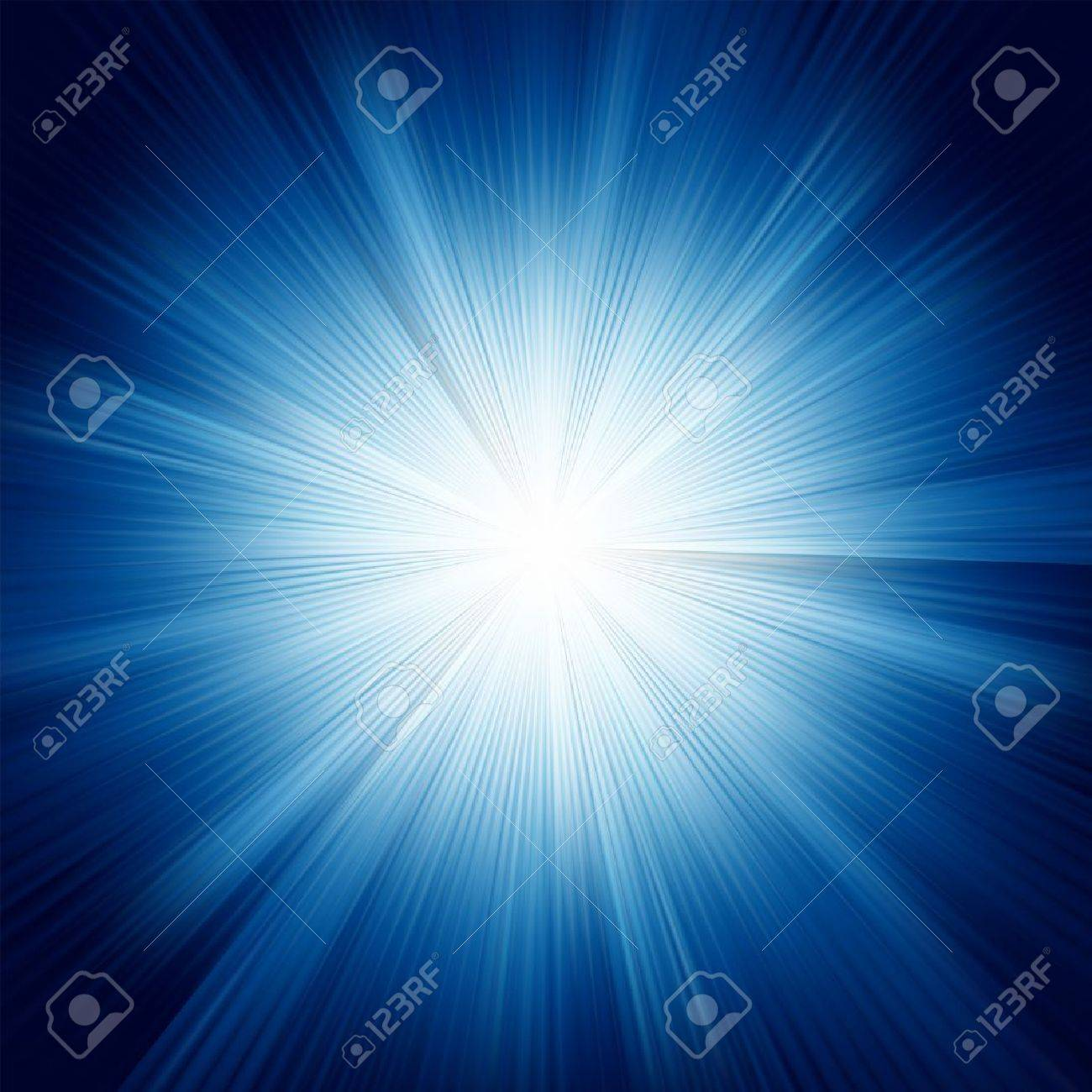 A Blue color design with a burst. EPS 8 vector file included Stock Vector - 8362130