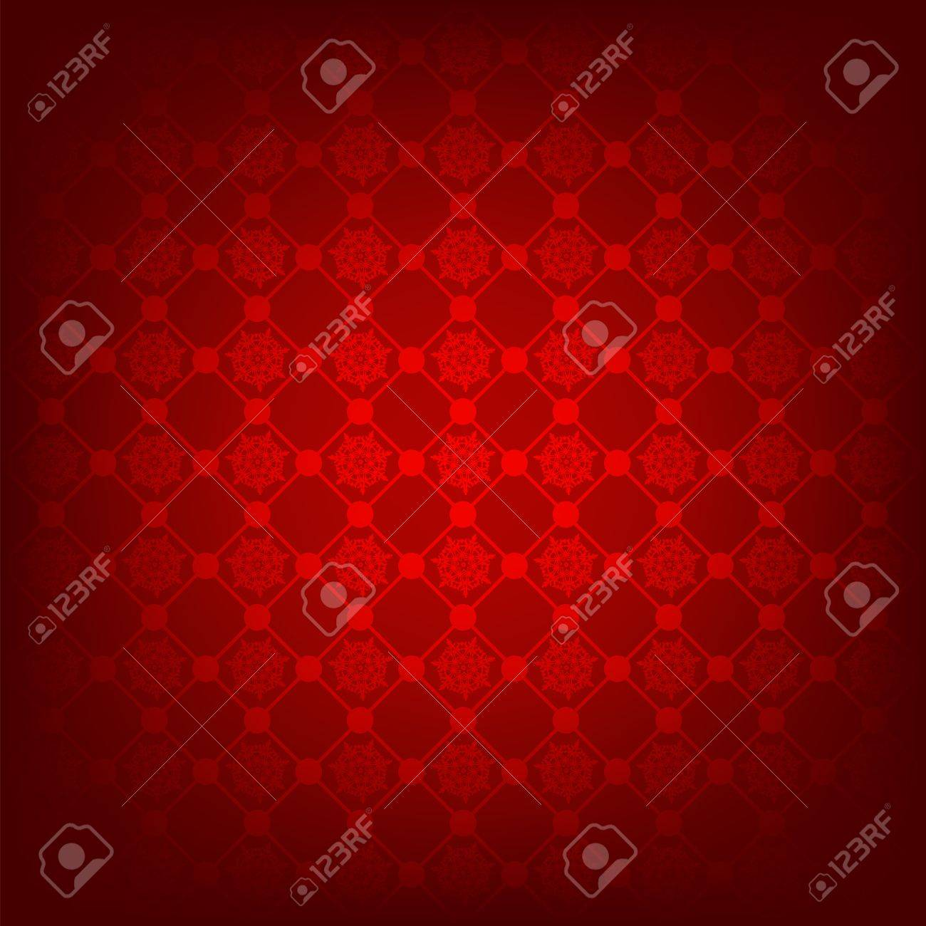 Seamless deep red christmas texture pattern. EPS 8 vector file included Stock Vector - 8428680