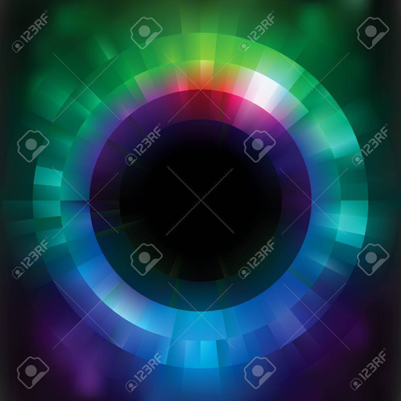 Colorful abstract vector mosaic background. Stock Vector - 9527878