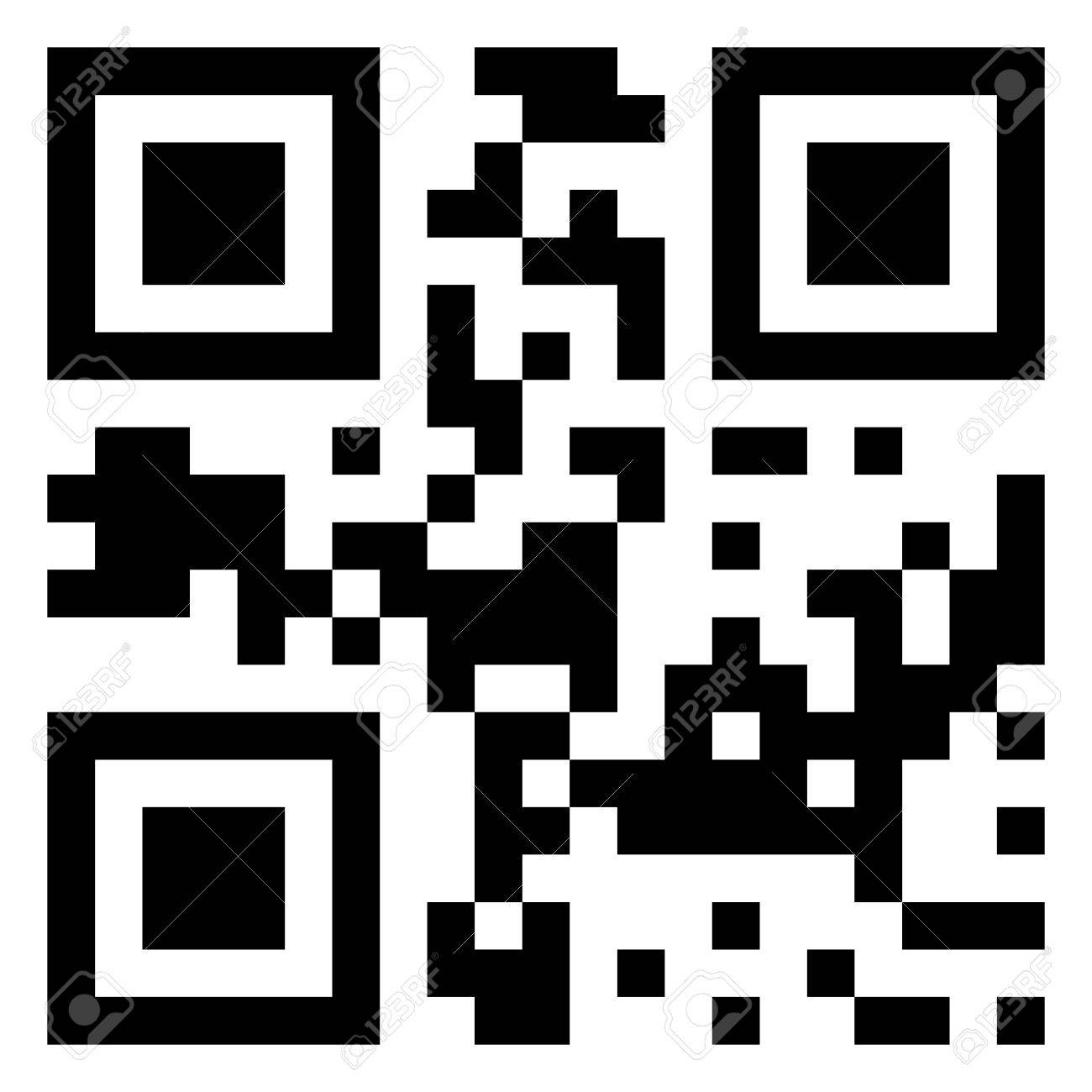 Sale data in qr code. (modern bar code). EPS 8 vector file included Stock Vector - 9910189