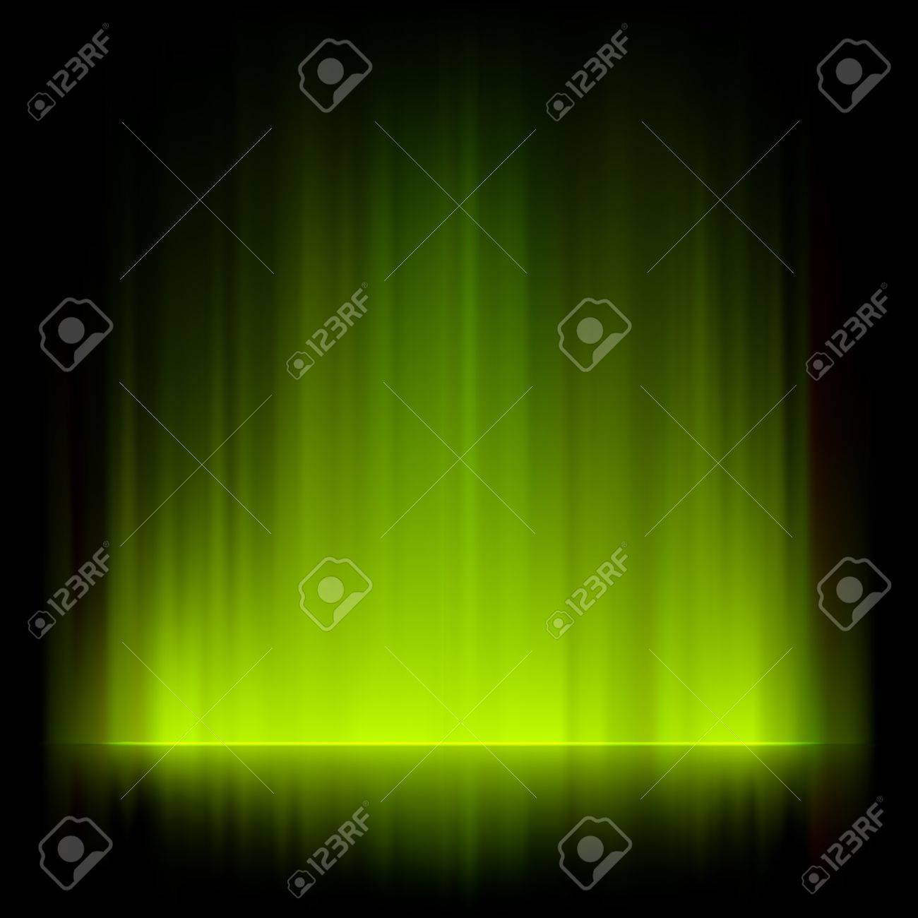 Abstract fire lights background. Stock Vector - 10308573
