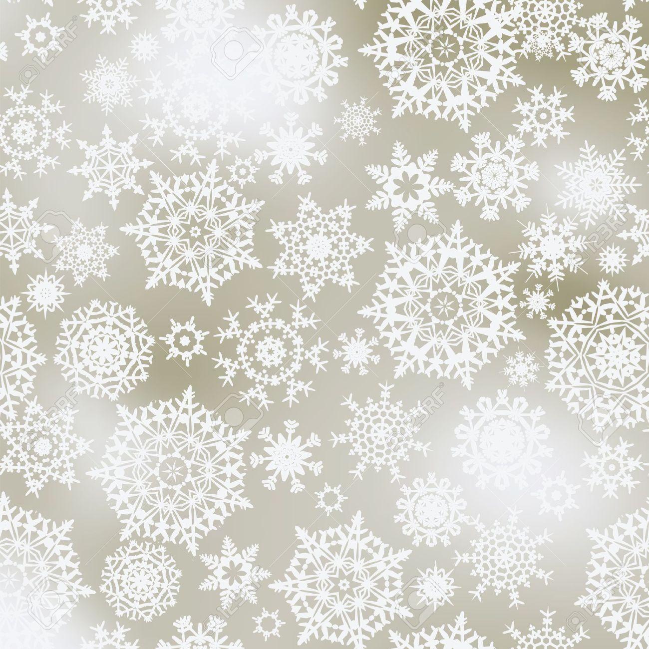 Elegant Christmas Background Hd.Light Elegant Christmas Background With White Snowflakes