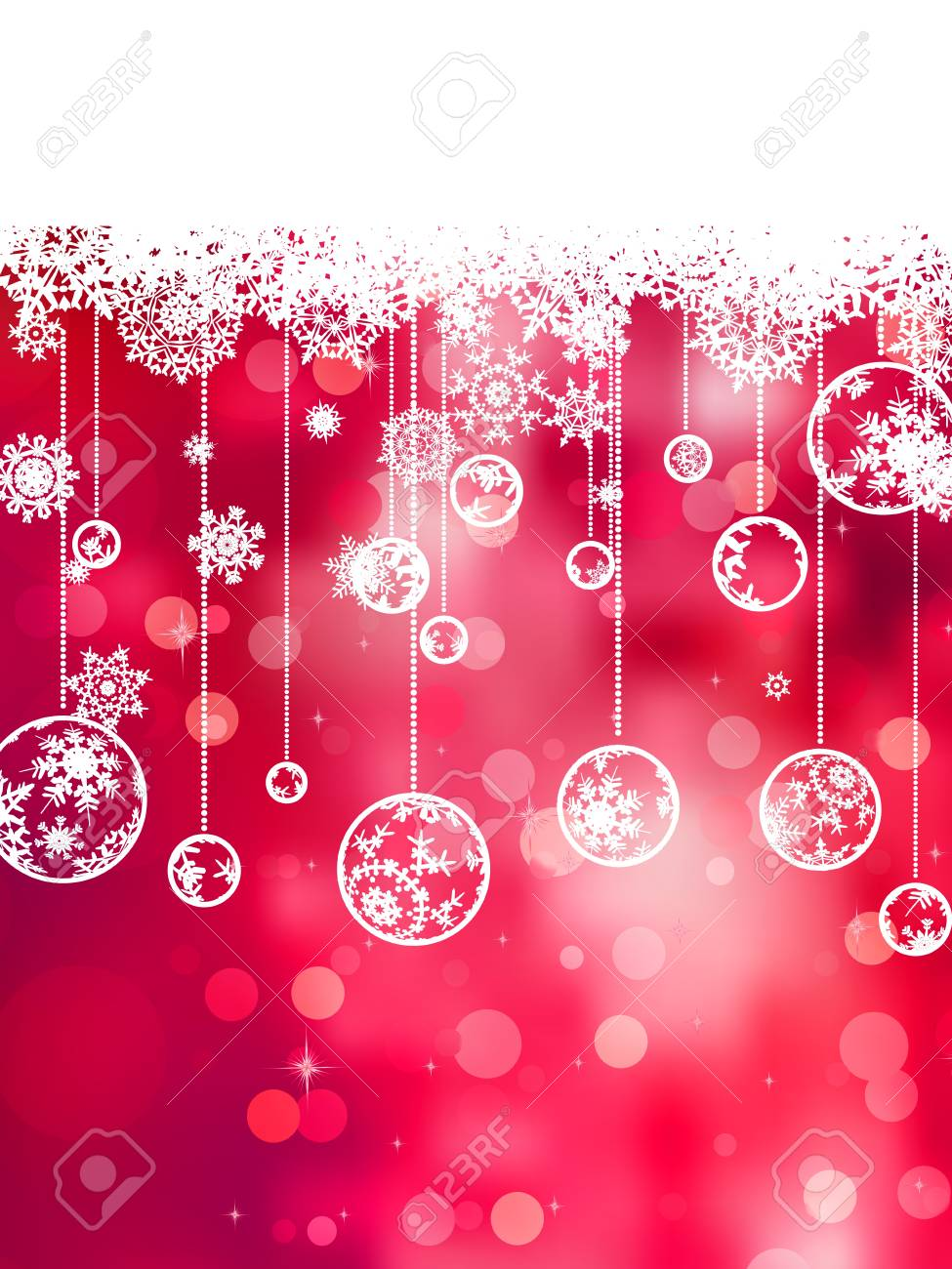 Elegant christmas background Stock Vector - 13781456