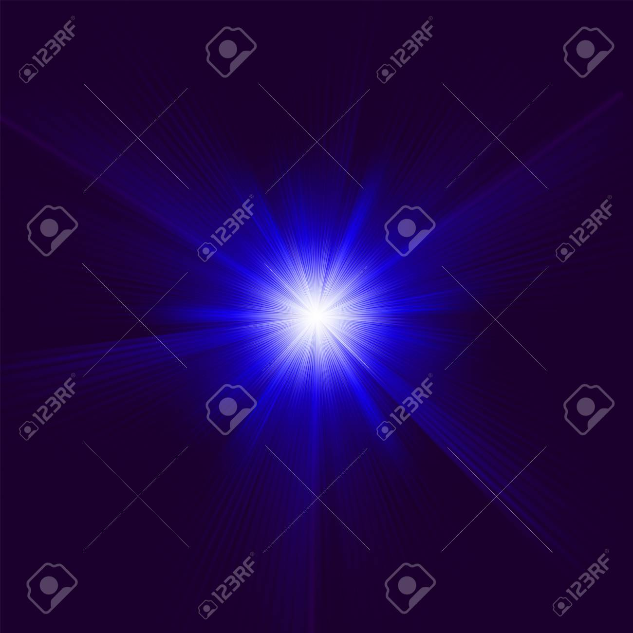 A Blue color design with a burst file included Stock Vector - 14282783