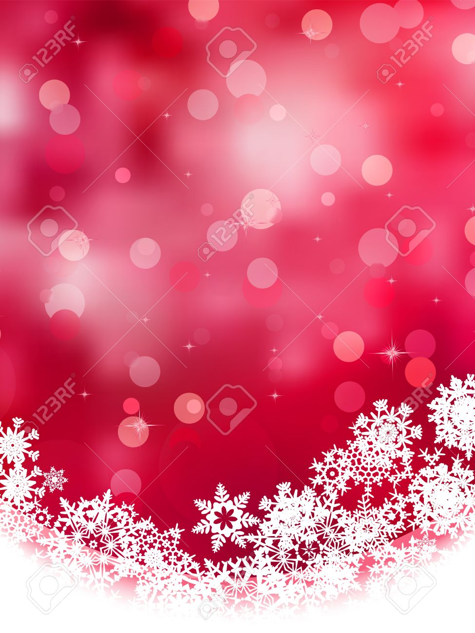 Multicolor abstract christmas background with snowflake Stock Vector - 16637848