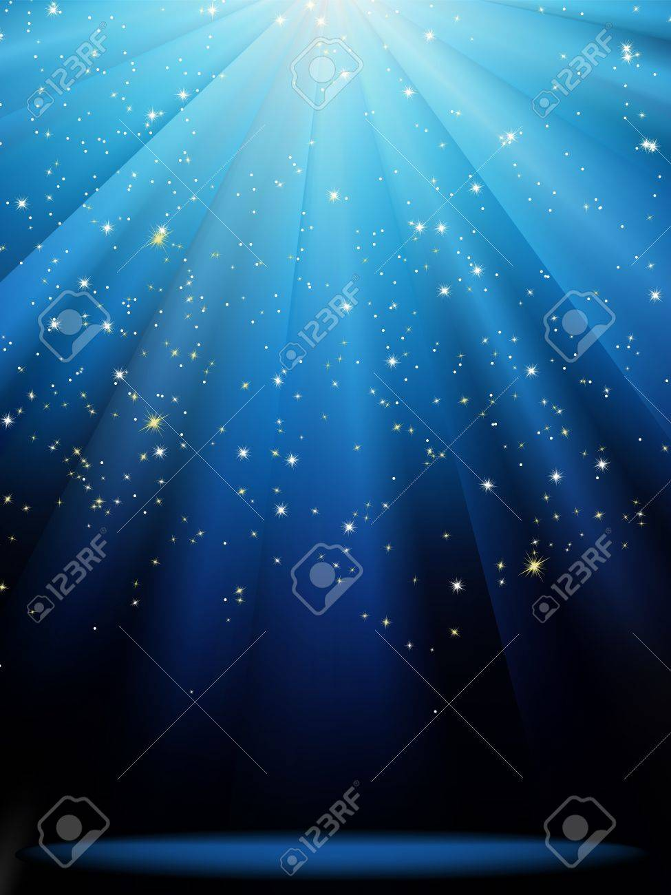 Abstract magic light background Stock Vector - 16684575