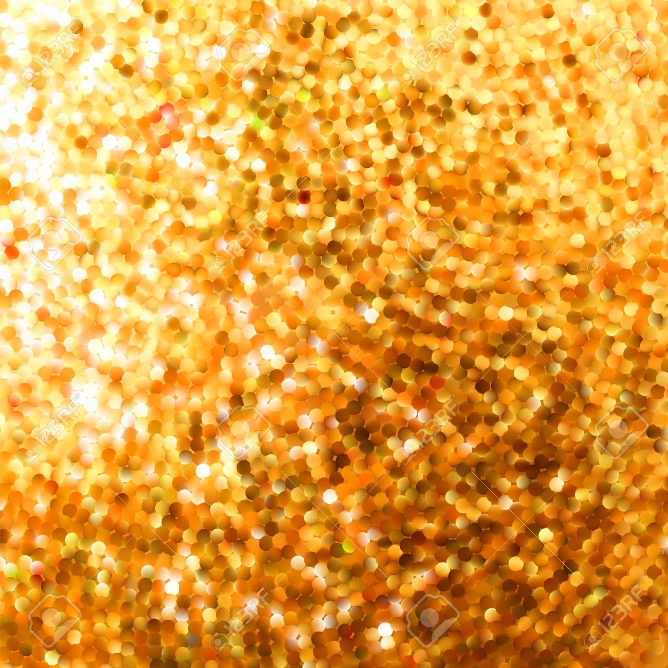 Amazing template design on orange glittering background Stock Vector - 17273043