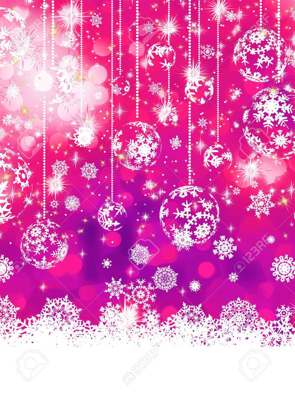 Purple Christmas background Stock Vector - 17503802