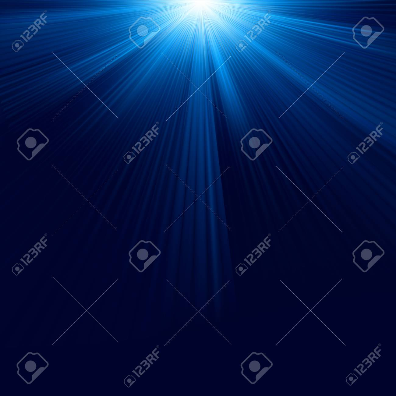 Blue color design with a burst Stock Vector - 17593598