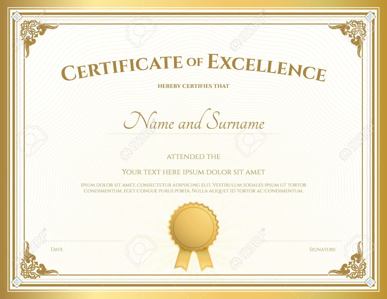 Certificate of appreciation en francais images certificate certificate of appreciation template with vintage gold border certificate of appreciation template with vintage gold border yelopaper Choice Image