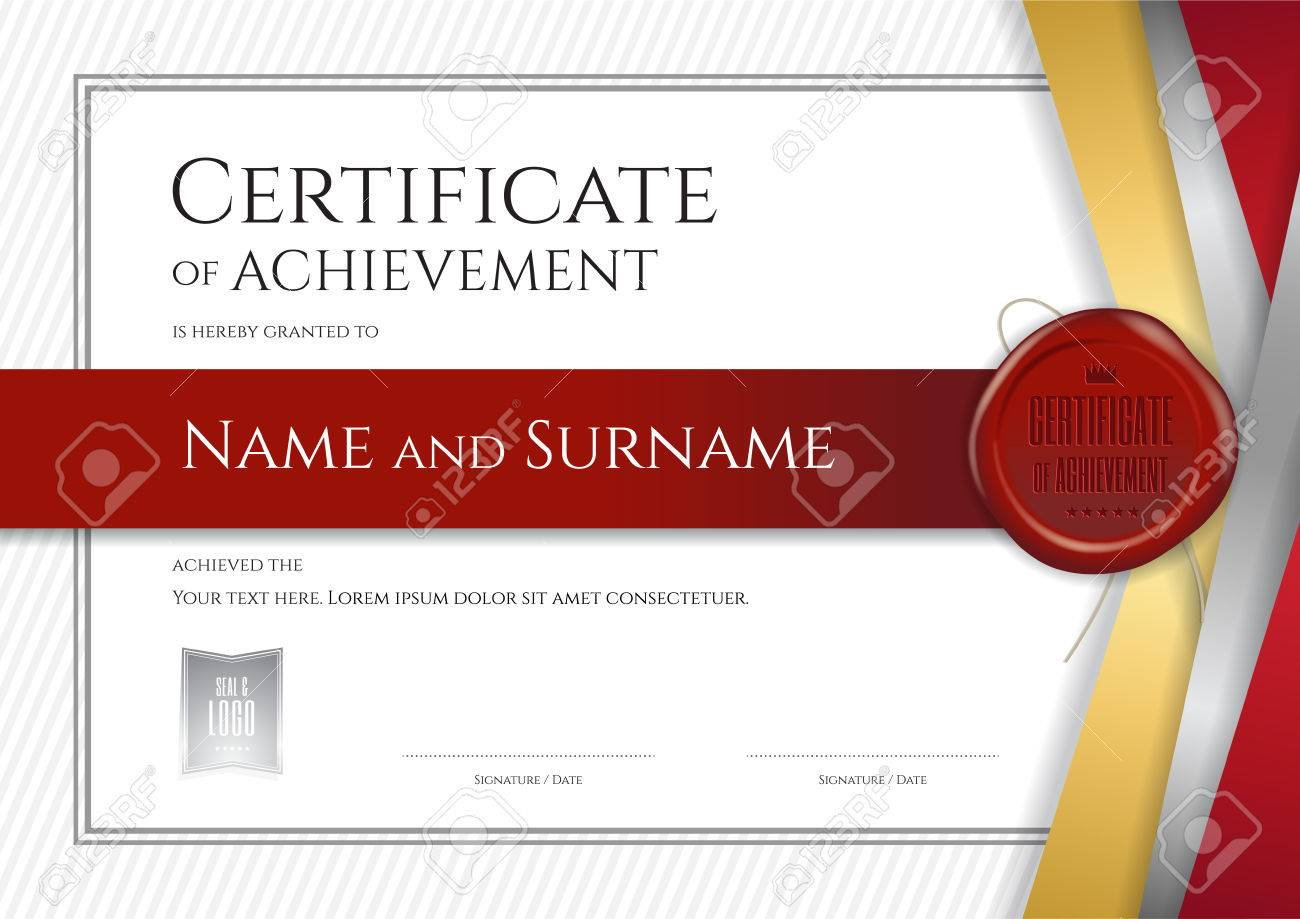 Luxury certificate template with elegant border frame diploma luxury certificate template with elegant border frame diploma design for graduation or completion stock vector xflitez Image collections