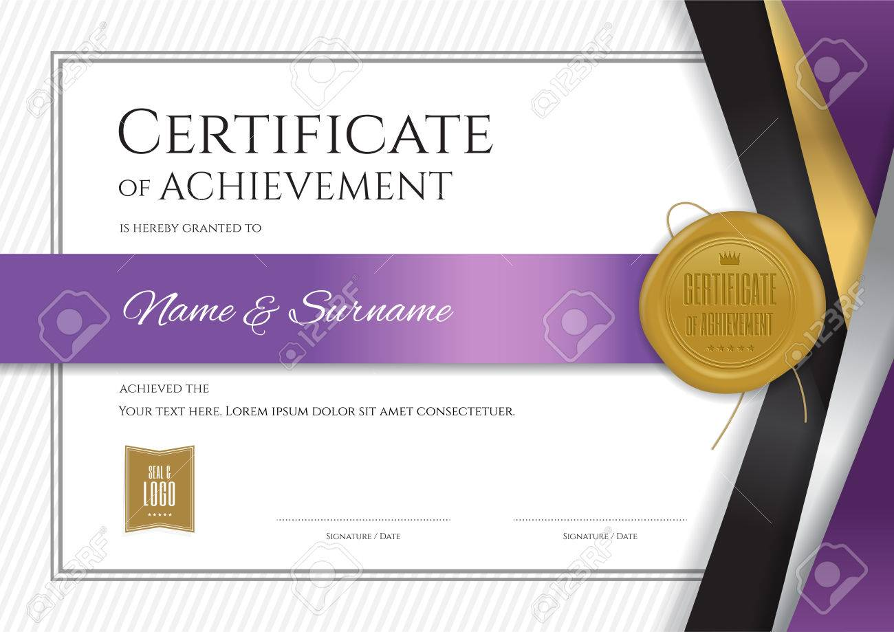 Luxury certificate template with elegant border frame diploma luxury certificate template with elegant border frame diploma design for graduation or completion stock vector yelopaper Image collections