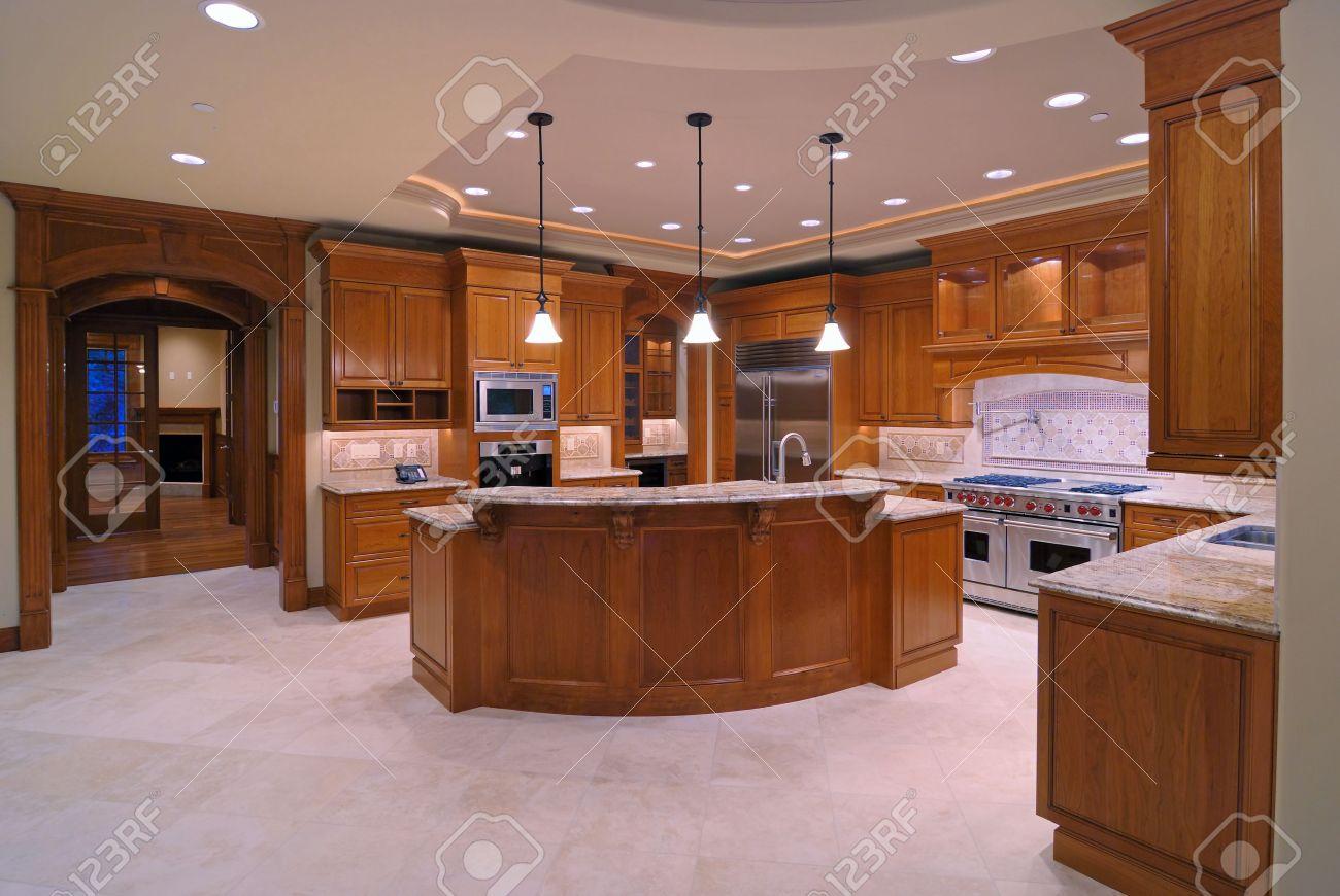 Série de luxe cuisine américaine