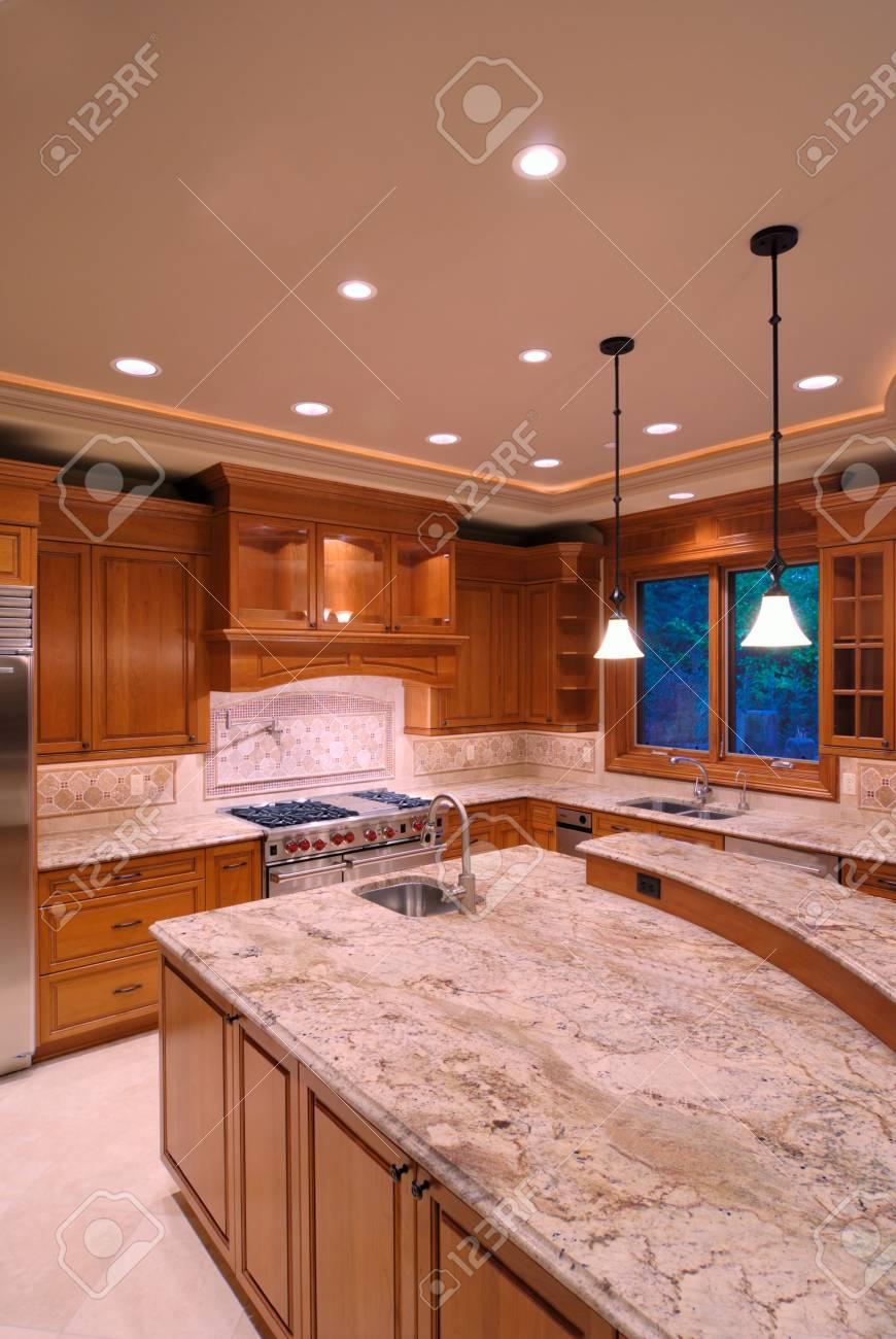 Série de cuisine américaine de luxe